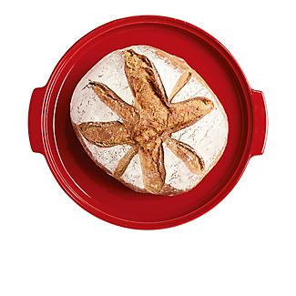 Emile Henry Round Bread Baker EH345507 – Red  alt image 4