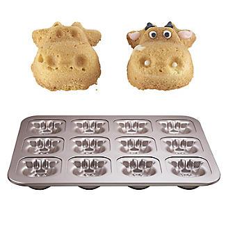 Lakeland 12 Cow Face Novelty Cake Tin