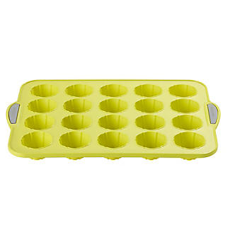Reinforced Silicone 20 Cup Mini Flowers Pan alt image 3