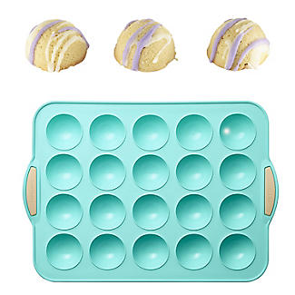Reinforced Silicone 20 Cup Mini Spheres Pan