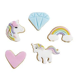 6 Mini Unicorn Cookie Cutters alt image 2