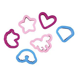 6 Mini Unicorn Cookie Cutters alt image 4