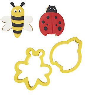 Garden Cookie Cutter Set – Ladybird and Bee
