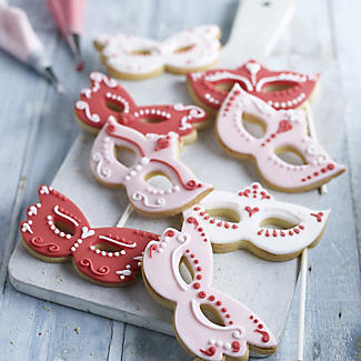 2 Venetian Mask Cookie Cutters alt image 2
