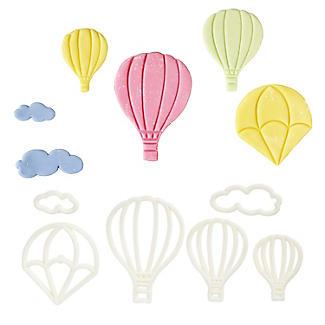 6 piece Hot Air Balloon Icing Cutters
