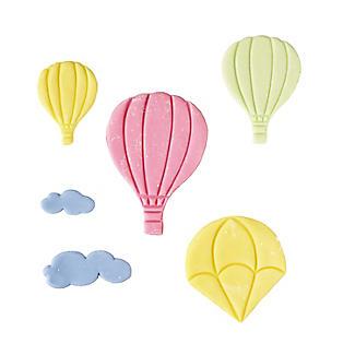 6 piece Hot Air Balloon Icing Cutters alt image 5