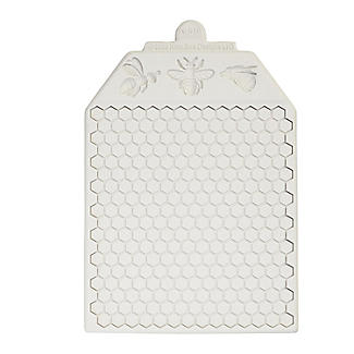 Katy Sue Designs Honeycomb and Bees Silicone Icing Mould alt image 6