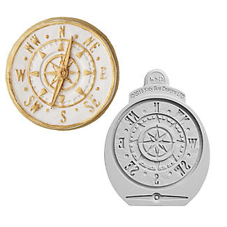 Katy Sue Designs Antique Compass Silicone Icing Mould
