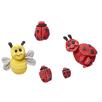 Lakeland Ladybird and Bee Cake Toppers Silicone Icing Mould alt image 2
