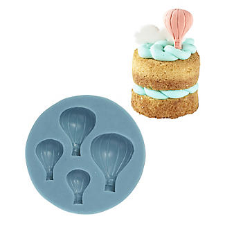 Lakeland Hot Air Balloon Toppers Silicone Icing Mould