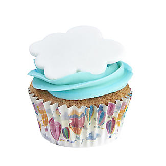 Hot Air Balloon Foil Lined Cupcake Cases – Pack of 30