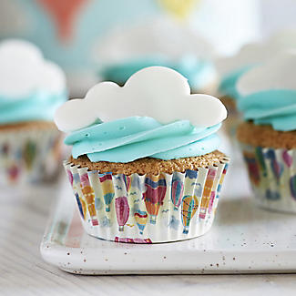 Hot Air Balloon Foil Lined Cupcake Cases – Pack of 30 alt image 2