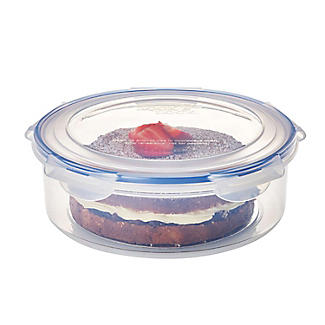Set of 2 LocknLock Clear Round Cake Carriers alt image 5