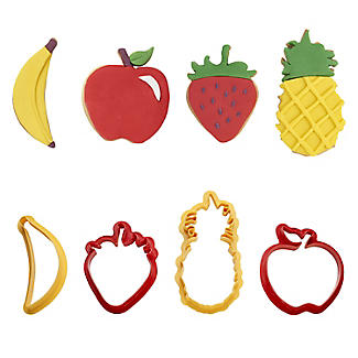 4 Fruit Cookie Cutters