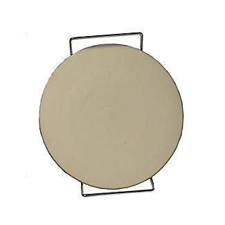 Eddingtons Ceramic Round Pizza and Baking Stone with Serving Rack 38cm Dia.