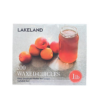 200 Waxed Circle Discs For 1lb Jam Jars  alt image 2