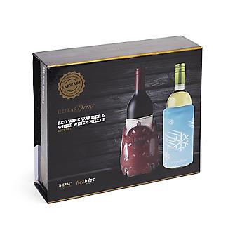 CellarDine Red Wine Warmer and White Wine Chiller Gift Set alt image 2