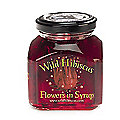 Syrup, Wild Hibiscus Flowers in