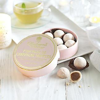 Charbonnel et Walker Pink Marc De Champagne Chocolate Truffles 135g alt image 2