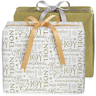 Christmas Script Tissue Paper
