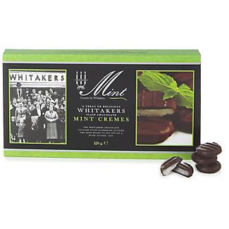 Whitakers Dark Chocolate Mint Cremes 150g