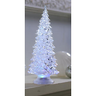 Small Led Frosted Christmas Tree