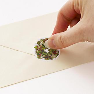 48 Christmas Envelope Seals alt image 2