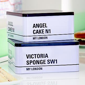 My London Cake Tin Duo