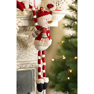 Snowman 'Hang Around' Decoration