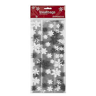 20 Snowflake Festive Treat Bags alt image 3