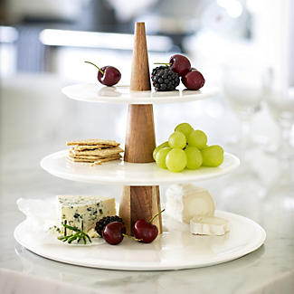 Serving Plate Tower