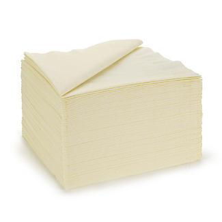 100 Cream Napkins
