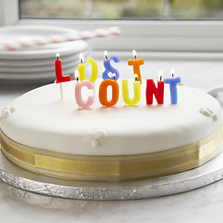Strange Lost Count Birthday Cake Candles Lakeland Funny Birthday Cards Online Barepcheapnameinfo