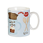 Cake In A Mug - Gift Mug With Recipe & Instructions