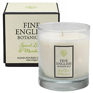 Fine English Lime & mandarin candle