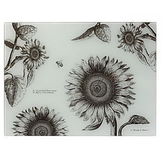 Sunflowers Glass Worktop Saver