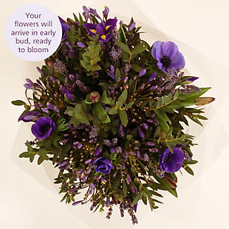 Lavender Bouquet with free express delivery alt image 3
