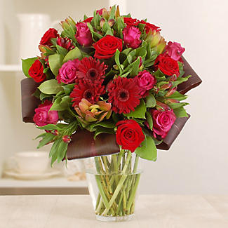 Burgundy Bouquet with free express delivery