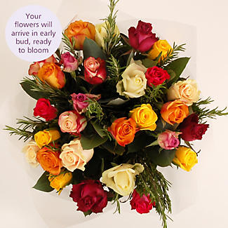 Rose and Rosemary Bouquet with free express delivery alt image 3