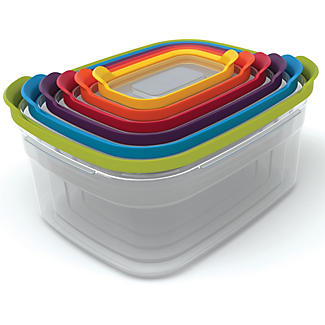 Joseph Joseph Nest Storage 6 Piece Food Container Set Multi Colour alt image 1