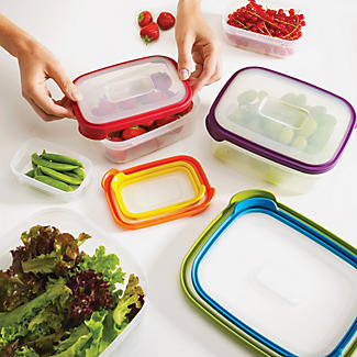 Joseph Joseph Nest Storage 6 Piece Food Container Set Multi Colour alt image 3
