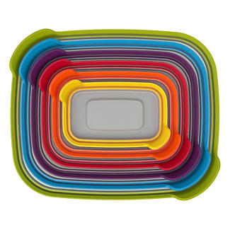 Joseph Joseph Nest Storage 6 Piece Food Container Set Multi Colour alt image 4