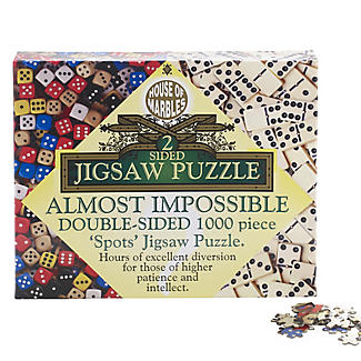Almost Impossible Dice and Dominos Jigsaw Puzzle