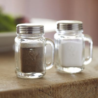 Mason Jar Salt And Pepper Shaker Lakeland