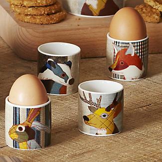 Magpie Beastie Egg Cups