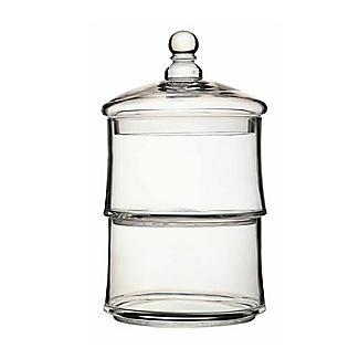 Masterclass Glasbehälter mit 2 Etagen