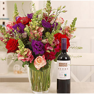 Merlot Bouquet Gift Set With Free Express Delivery