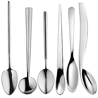 6 Sculpted Spoons