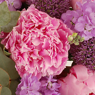 British Peonies Bouquet with free Express delivery alt image 2