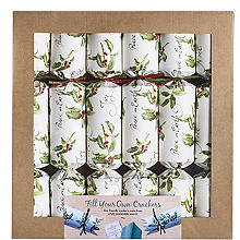 Fill-Your-Own Christmas Crackers - Pack of 8